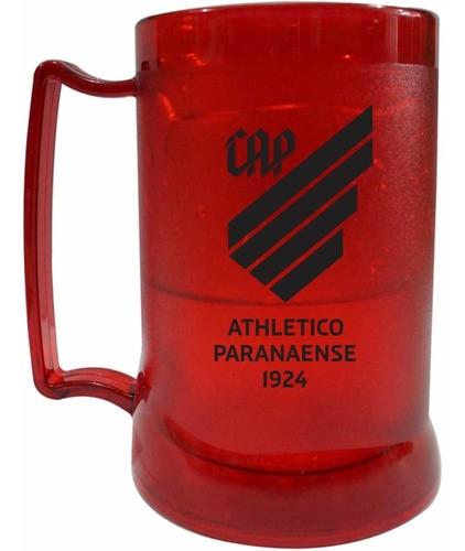 Caneca Gel Athletico Paranaense Escudo Vermelha
