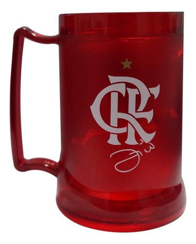 Caneca Gel Flamengo Zico