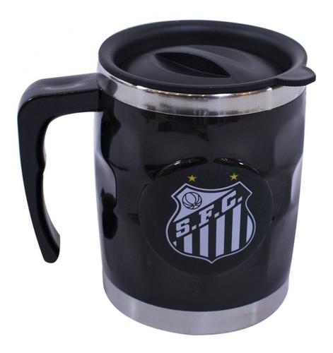 Caneca Térmica 450 ml Inox Santos