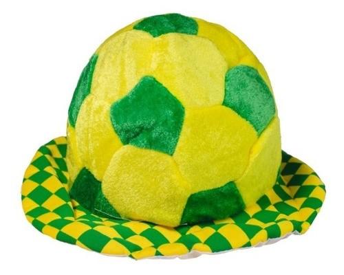 Chapéu Torcedor Bola Brasil