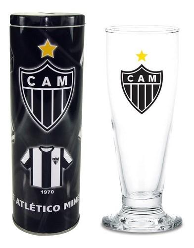 Copo Chopp Cerveja 300 Ml Com Lata Cofre Atlético Mineiro