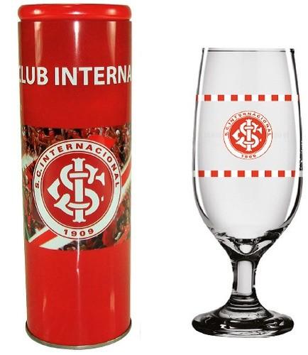 Copo Chopp Cerveja 300 Ml Com Lata Cofre Internacional