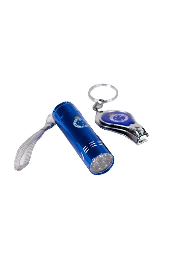 Kit Com Lanterna Led E Chaveiro Do Cruzeiro