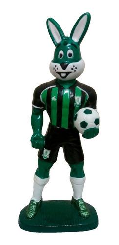 Mascote América Mineiro - Gesso 20 Cm