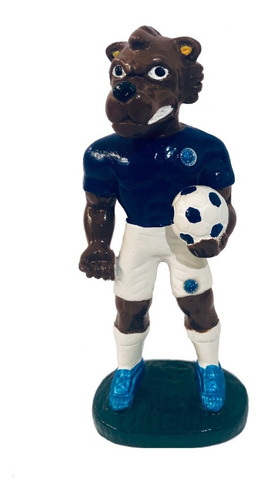 Mascote Do Cruzeiro - Resina - 12 Cm.