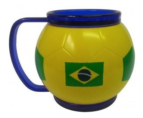 Mini Caneca Bola Brasil