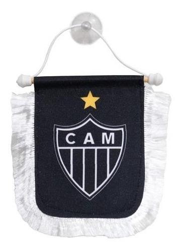 Mini Flâmula Com Franja Atlético
