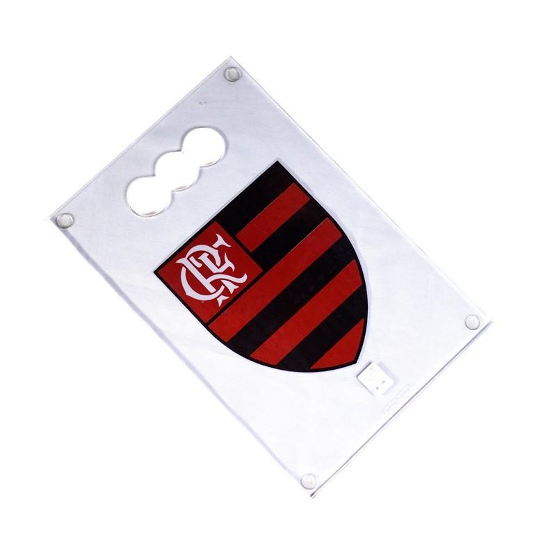 Tábua De Vidro Temperada Do Flamengo - Pequena