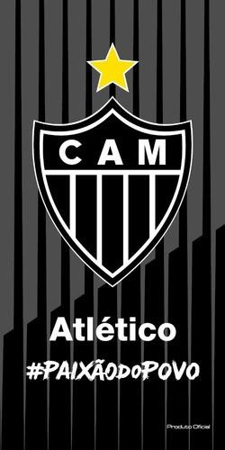 Toalha De Banho Veludo Atlético