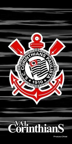 Toalha De Banho Veludo Corinthians