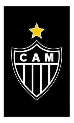 Toalha Social Rosto Veludo Atlético