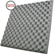 Espuma Acústica Antichama Perfilada-Kit 16 peças-40mm-(4m²)