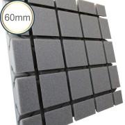 Espuma acústica Difusor - Q4 - Kit 4 peças - (1m²)