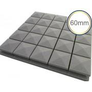 Espuma acústica Linha Difusor - Q3 - Kit 4 peças - (1m²) - Colors