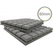 Espuma acústica Linha Difusor - Q Colors - Kit 4 peças - (1m²)