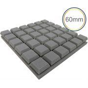 Espuma acústica Linha Difusor - Q - Kit 4 peças - (1m²)