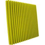 Espuma acústica Linha REV - R - Amarelo - Kit 8 peças (2m²)