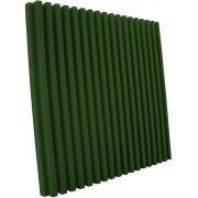 Espuma acústica Linha REV - R - Verde - Kit 8 peças (2m²)