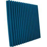 Espuma acústica Linha REV - R - Azul - Kit 8 peças (2m²)