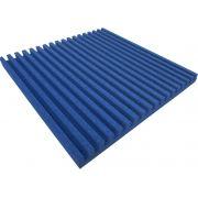 Espuma acústica Linha REV - R - Azul - Kit 4 peças (1m²)