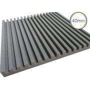 Espuma Acústica - REV R - Kit 4 peças - (1m²)