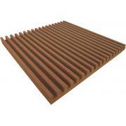 Espuma acústica Linha REV - R - Marrom - Kit 8 peças (2m²)