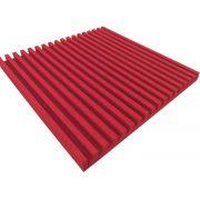 Espuma acústica Linha REV - R - Vermelho - Kit 4 peças (1m²)