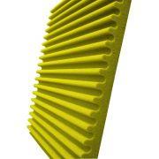 Espuma acústica Linha REV - S - Amarelo- Kit 4 peças (1m²)