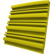Espuma acústica Linha REV - SII - Amarelo - Kit 8 peças (2m²)