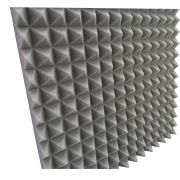Espuma acústica Linha REV - T1 Preto - Kit 4 peças - (1m²)