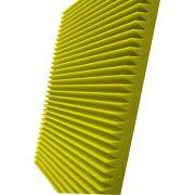 Espuma acústica Linha REV - W - Amarelo - Kit 8 peças (2m²)