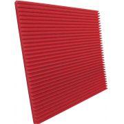 Espuma acústica Linha REV - W - Vermelho - Kit 4 peças (1m²)