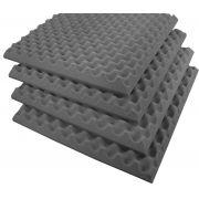 Espuma Acústica perfilada - Kit 4 peças - 40mm - (1m²)