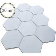 Espuma Acústica - REV - Hexagonal 3D Colors- Kit 5 peças - (1m²)