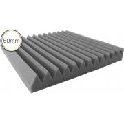 Espuma Acústica - REV - W2 - Kit 4 peças (1m²) 60mm