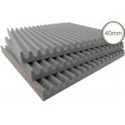Espuma Acústica - REV S - Kit 4 peças - (1m²) - 30mm