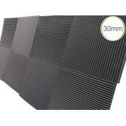 Espuma Acústica - REV W - Kit 4 peças - (1m²) - 30mm