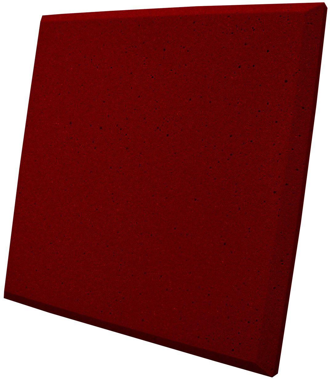 Espuma acústica Linha REV - P - Vermelho - Kit 4 peças (1m²) 30mm  - Loja SPL Acústica