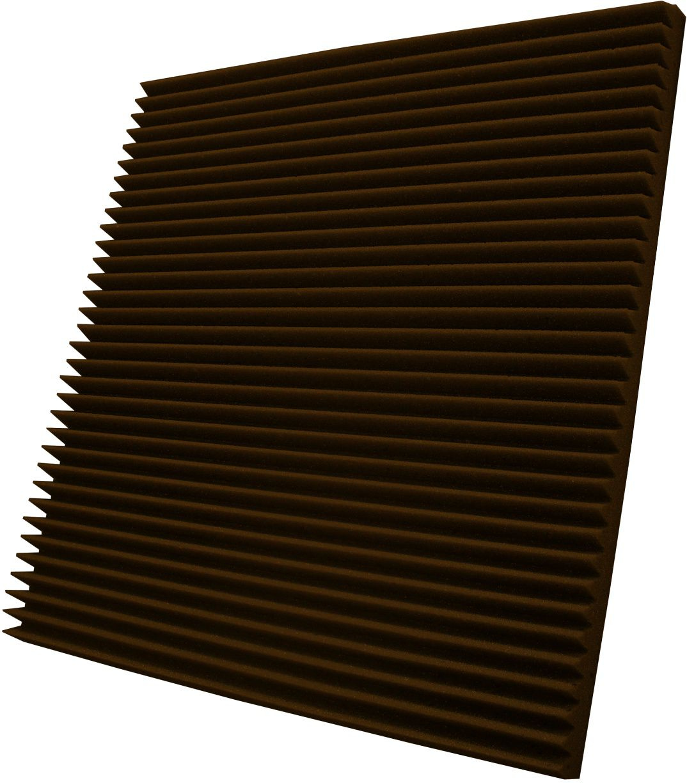 Espuma acústica Linha REV - W - Marrom - Kit 4 peças (1m²)  - Loja SPL Acústica