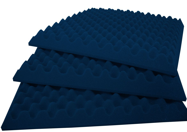 Espuma Perfilada - Kit 8 - Azul - 50mm (2m²)  - Loja SPL Acústica