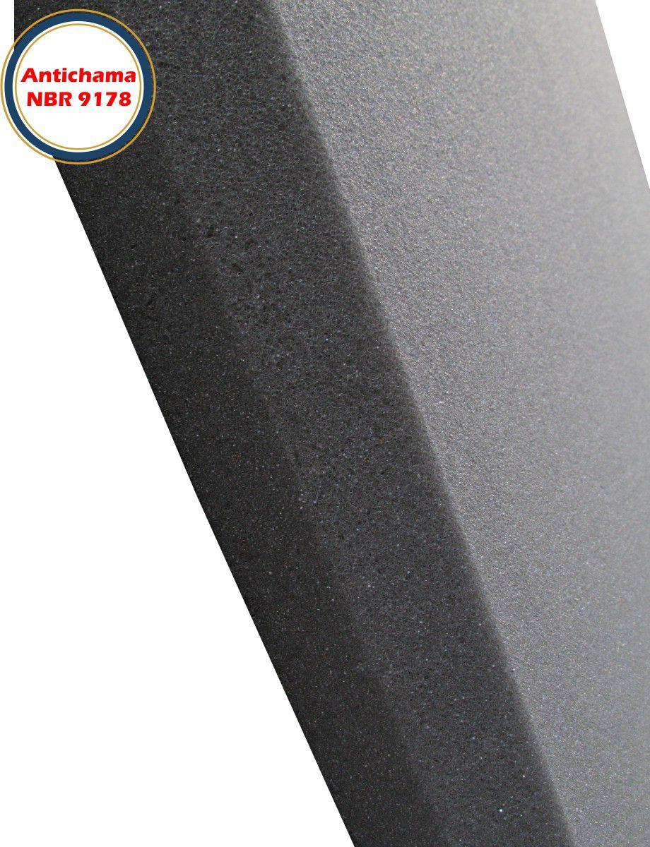 Espuma Acústica Antichama Linha Rev P Lisa - Kit 12 peças (3m²)  - Loja SPL Acústica