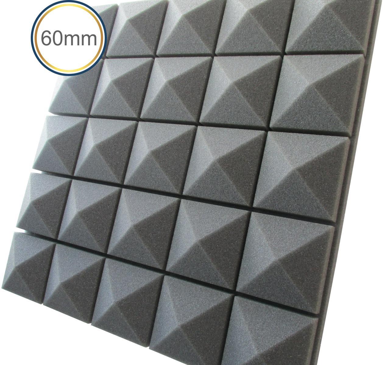 Espuma acústica Difusor - Q3 - Kit 4 peças - (1m²)  - Loja SPL Acústica