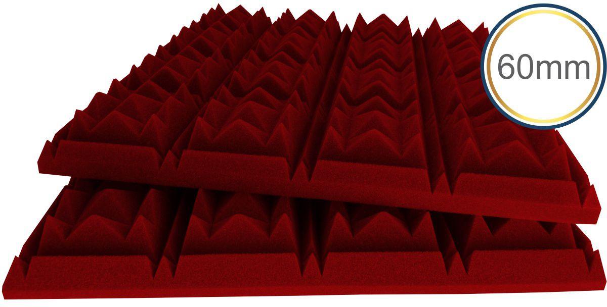 Espuma acústica Difusor - C - Kit 4 peças - Colorida Pigmentada - (1m²)  - Loja SPL Acústica
