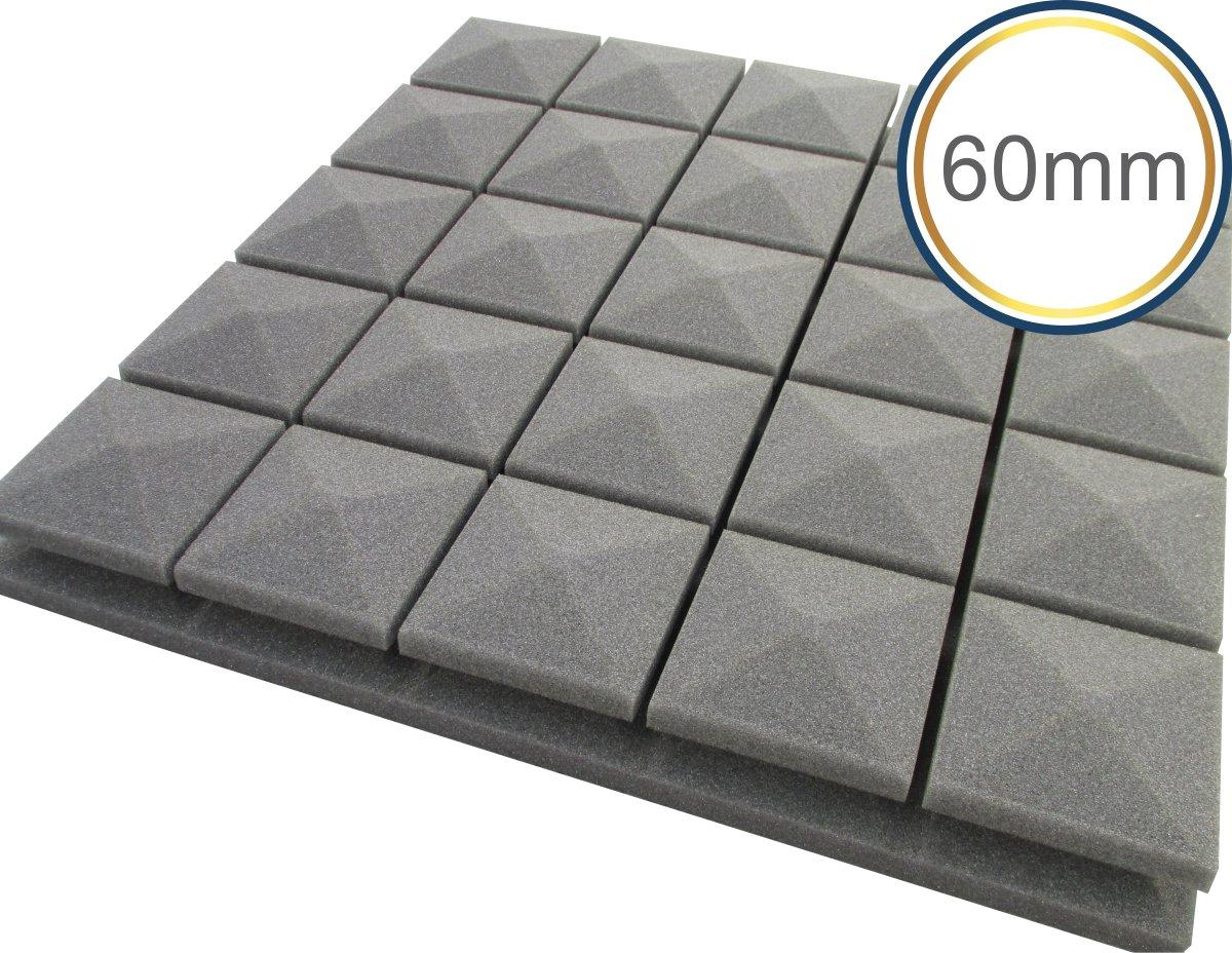Espuma acústica Linha Difusor - Q3 - Kit 4 peças - (1m²) - Colors  - Loja SPL Acústica