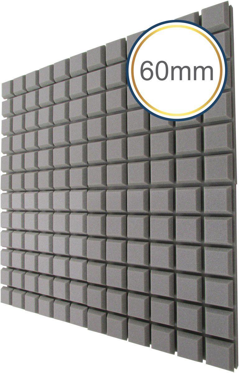 Espuma acústica Difusor - Q - Kit 4 peças - (1m²)  - Loja SPL Acústica