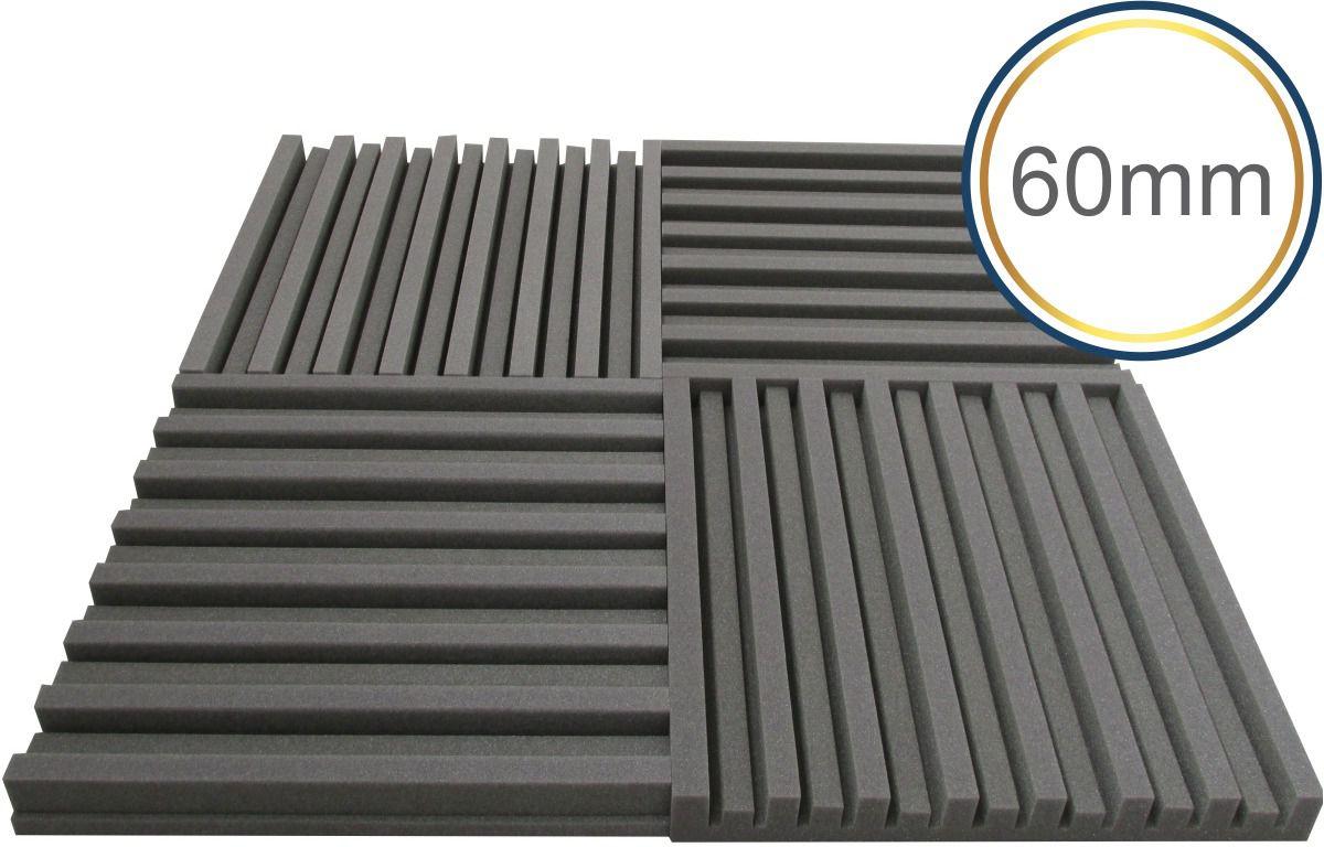 Espuma acústica Linha Difusor - R - Kit 4 peças - (1m²)  - Loja SPL Acústica