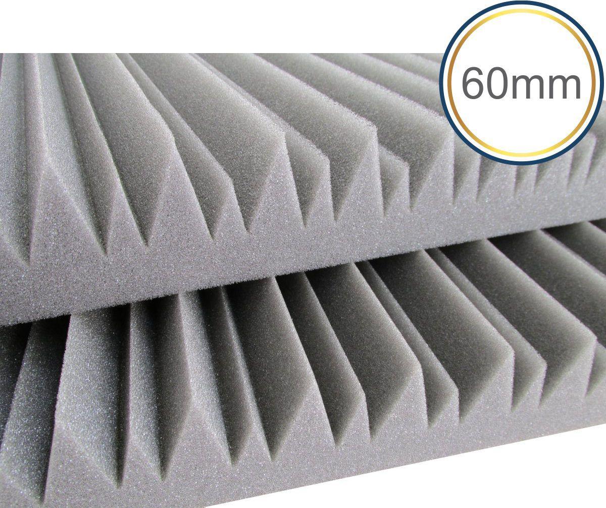 Espuma acústica Linha Difusor - W - Kit 4 peças - (1m²)  - Loja SPL Acústica