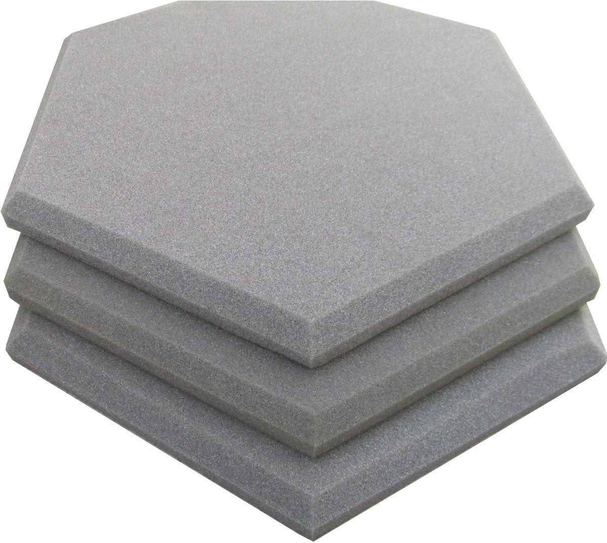 Espuma acústica Linha REV Geometric- Hexagonal - Kit 5 peças - (1m²)  - Loja SPL Acústica
