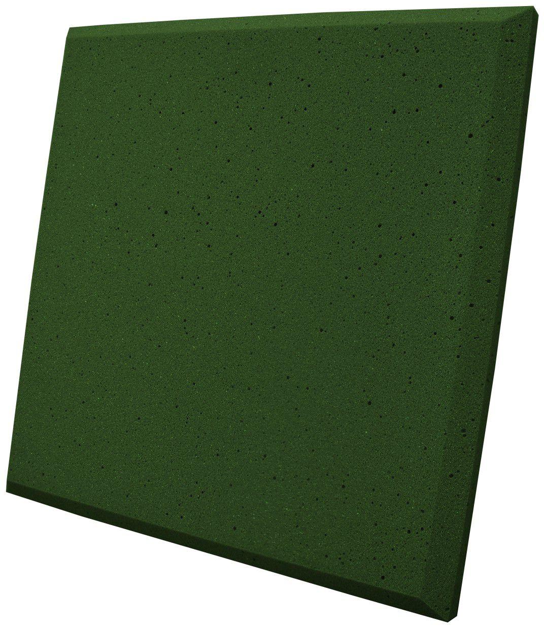 Espuma acústica Linha REV - P - Verde - Kit 8 peças (2m²)  - Loja  SPL Acústica