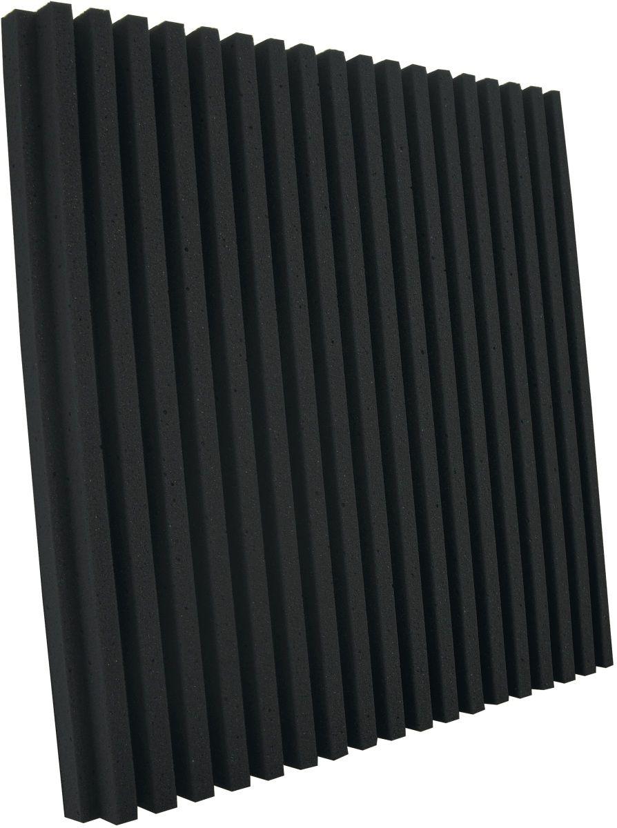 Espuma acústica Linha REV - R - Preto - Kit 8 peças (2m²)  - Loja SPL Acústica